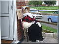 TA2270 : Suffragette scarecrow, Flamborough by JThomas