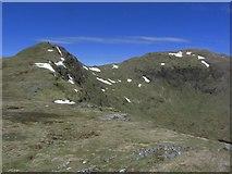 NN3835 : Heading towards Stob nan Clach with Creag Mhor to right by Colin Park