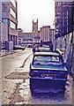 TQ3280 : Sunday in City of London, Winter 1983 by Ben Brooksbank