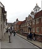 SU1429 : Southern end of High Street, Salisbury by Jaggery