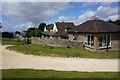 SO9827 : Cleeve Hill Golf Club clubhouse by Bill Boaden