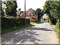 TM0869 : Wickham Road & The Street Postbox by Adrian Cable
