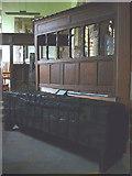 SD4983 : Parish chest, St Peter's Church, Heversham by Karl and Ali
