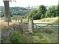 SE0522 : Gate on Sowerby bridge FP78 by Humphrey Bolton