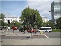 TQ2780 : Cumberland Gate near Marble Arch, London W1 by Robin Stott