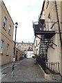 ST7465 : Passage off Old King Street, Bath by Malc McDonald