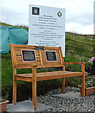 NS2573 : Argyll & Sutherland Highlanders memorial well by Thomas Nugent