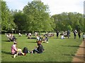 TQ2880 : Sunday afternoon in Green Park, London by Robin Stott