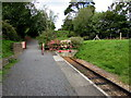 SZ5391 : Western end of the line, Isle of Wight Steam Railway, Wootton by Jaggery