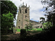SJ9457 : St Michaels Church, Horton, Staffordshire by Colin Park