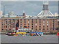 SJ3389 : Liverpool - Albert Dock and Metropolitan Cathedral by Chris Allen