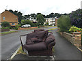SP2966 : Top of George Road, Warwick, with corner sofa by Robin Stott