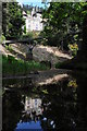 NU0702 : Cragside viewed from below the footbridge by Philip Halling