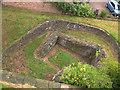 SE6052 : Former Roman wall, York by Stephen Craven