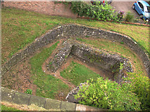 SE6052 : Former Roman wall, York by Stephen Craven
