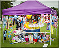 SK8770 : Colourful stall at Harby Show by Julian P Guffogg