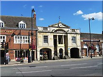 TF0920 : The Town Hall at Bourne, Lincolnshire by Alex McGregor