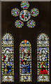 SK8770 : West window, All Saints' church, Harby by Julian P Guffogg