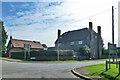 TL1218 : Farmhouse, New Mill End Farm by Robin Webster