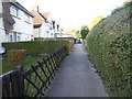 TQ5771 : Path from Green Street Green Road to Ridgeway by David Howard