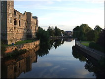 SK7954 : The River Trent, Newark by JThomas