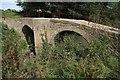 SP2437 : Ancient Packhorse bridge by Philip Halling