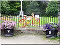 NY9364 : The stripey bikes of Hexham (7) by Oliver Dixon