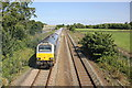 SJ0783 : The North Wales Coast Line at Prestatyn by Jeff Buck