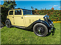 TQ3499 : Classic Car at Classic Car Show, Capel Manor, Enfield by Christine Matthews