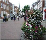 SU8604 : East Street, Chichester by Marathon