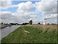 TG4015 : Footpath along Thurne Dyke by Evelyn Simak