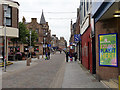 NK1346 : Pedestrianised area in Peterhead by John Lucas