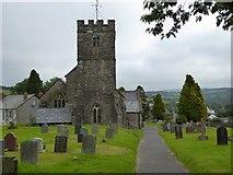 SS9531 : Brompton Regis church and churchyard by David Smith