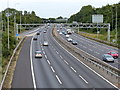 SP1778 : Junction 5 of the M42 motorway by Mat Fascione
