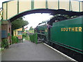 SU6232 : Ready to leave from Ropley station by Marathon