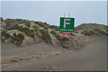 TQ9618 : Muster Point F, Camber Sands by N Chadwick
