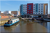 SK5319 : Travelodge next to the Loughborough Canal Basin by Mat Fascione