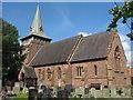 SJ3673 : Holy Trinity Church Capenhurst by Sue Adair