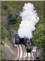 NT4541 : The Union of South Africa exiting Bowshank Tunnel on the Borders Railway by Walter Baxter