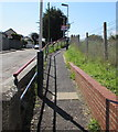 SZ5983 : Entrance path to Lake railway station, Isle of Wight by Jaggery