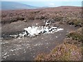 SK1796 : Plane Wreckage at Broadhead Clough Head by Jonathan Clitheroe