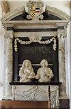 SK9239 : Monument to Sir John and Alicia Brownlow, Ss Peter & Paul church, Belton by Julian P Guffogg