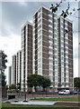 NZ2564 : Tower blocks, Rock Terrace, Newcastle by Stephen Richards
