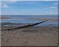 SD3148 : Beach near Rossall Point by Ian Taylor