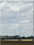 TM1663 : Mendlesham Transmission Tower by Adrian Cable