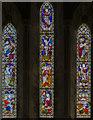 SK9240 : East window, St Mary's church, Syston by Julian P Guffogg