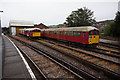 SZ5991 : Rolling stock at Ryde St  John's Road Train Station by Ian S