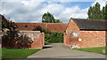 TG4214 : Barn conversions at Hall Farm by Evelyn Simak
