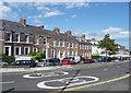 NZ2562 : Regent Terrace, Gateshead by Stephen Richards
