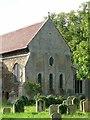 TL2985 : Church of St Thomas à Becket, Ramsey by Alan Murray-Rust